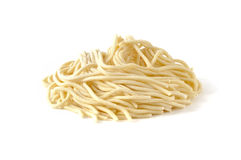 Pici, fresh pasta typical of Tuscany, Italy Stock Image