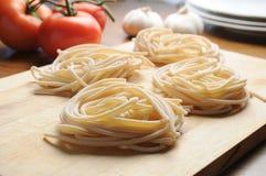 Pici toskanki typowy Toskański makaron Zdjęcia Royalty Free