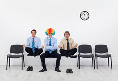 Pick the average candidate for the job Stock Photos