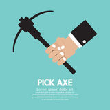 Pick Axe In Hand Stock Photos
