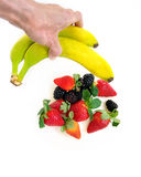 pick a fruit royalty free stock images