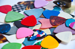 Pick guitar Stock Image