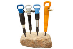 Pick hammers Royalty Free Stock Image