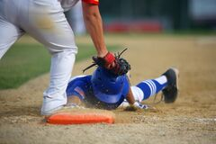 Baseball Pick-Off at First Base