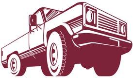 Pick-up stock illustratie