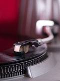 Pick-up arm of a record player Stock Images