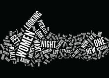 The Pick Up Artist And One Night Stands Text Background  Word Cloud Concept Royalty Free Stock Photo