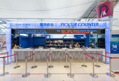Pick up counter of King Power store, Bangkok Suvarnabhumi airpor Stock Photography