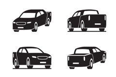 Pick-up in perspectief royalty-vrije illustratie