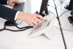 Pick Up The Phone Royalty Free Stock Photography