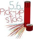 5 6  Pick Up Sticks Royalty Free Stock Photos