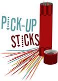 Pick-Up Sticks Royalty Free Stock Photography