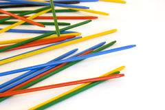 Pick up sticks games Royalty Free Stock Photo