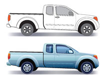 Pick-up truck Stock Photos