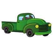 Pick-up truck Royalty Free Stock Photography