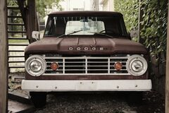 Pick-up Truck Royalty Free Stock Images