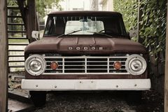 Pick-up Truck Stock Photography