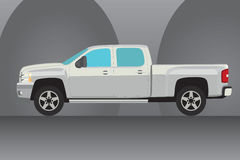 Pick-up truck  illustration Stock Images
