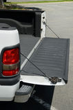 Pick-up truck  trunk lid Stock Image