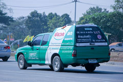 Pick up truck of Unipest company Stock Photography