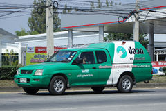 Pick up truck of Unipest company. Royalty Free Stock Photo