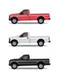 Pick-up trucks Royalty Free Stock Photo