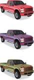 Pick-up trucks Stock Images