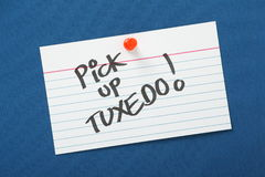 Pick Up Tuxedo Stock Photo