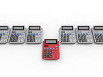 Pick your accountant concept Royalty Free Stock Photo
