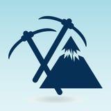 Pickaxe mountain Royalty Free Stock Image
