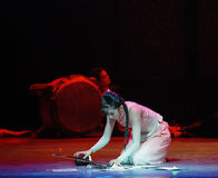 Picked up the erhu-The third act of dance drama-Shawan events of the past Stock Images