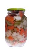 Pickels jar Royalty Free Stock Photography