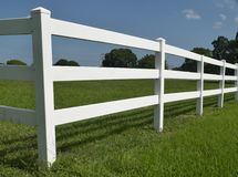 Picket Fence in Davie Florida Royalty Free Stock Photography