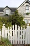 Picket Fence Entry Royalty Free Stock Photo