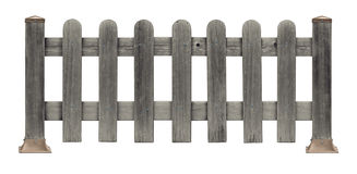 Picket Fence Grunge Stock Image