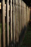 Picket Fence Stock Photo