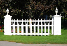 Picket Fence section Royalty Free Stock Image