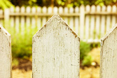 Picket Fence Royalty Free Stock Images