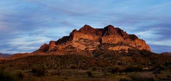 Picketpost góra, przełożony, Arizona obrazy royalty free