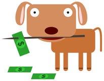 Picking bills Stock Photos