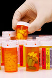 Picking Prescription royalty free stock photos