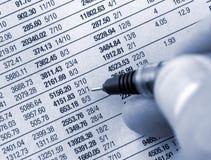 Picking shares Stock Photos