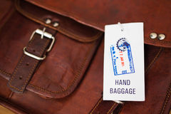 Picking up Baggage Stock Photography