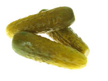 Pickle. On a white background Stock Photo