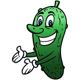 Pickle Cartoon Royalty Free Stock Image