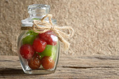 Pickle cherry fruit Royalty Free Stock Photos