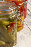 Pickle Delight Stock Photo
