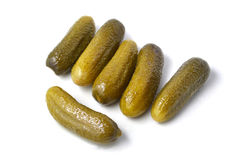 Pickle gherkins Royalty Free Stock Image