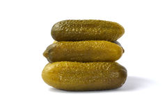Pickle gherkins Stock Photo