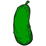 Pickle Icon Stock Image